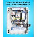 Cuadros de Sondas para bomba Sumergibles 0.75- 1.00 HP monofásico Pozo MAXGE