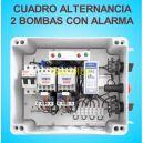 Cuadro de Alternancia para 2 bombas Monofasico 230V y 2 HP con Alarma