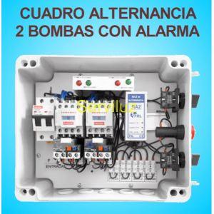Cuadro de Alternancia para 2 bombas Trifasico 400V y 4-5 HP con Alarma