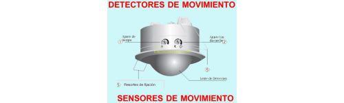 Detectores de movimiento y sensores de presencia con for Luz con detector de movimiento